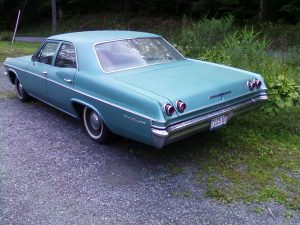 1965 Chevrolet Bel Air - rear side view